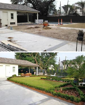 landscaping companies uptown new orleans