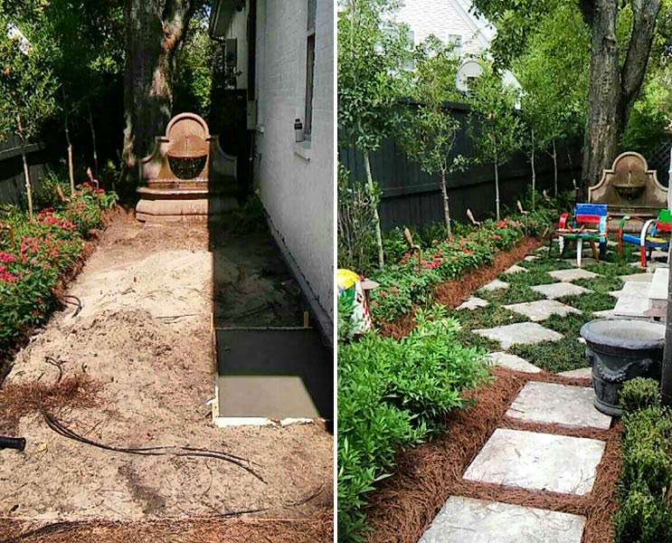 uptown new orleans landscaping company - Residential Landscaping And Lawn Care - Ponseti Landscaping