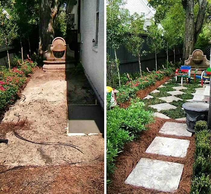 Ponseti landscaping uptown new orleans and lakeview for Landscaping companies